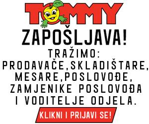 Tommy - zapošljavamo