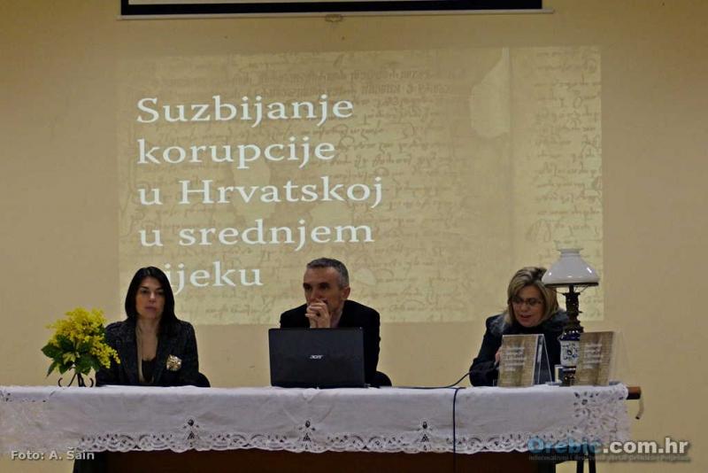 """S predstavljanja knjige 'Suzbijanje korupcije u Hrvatskoj u srednjem vijeku"""""""