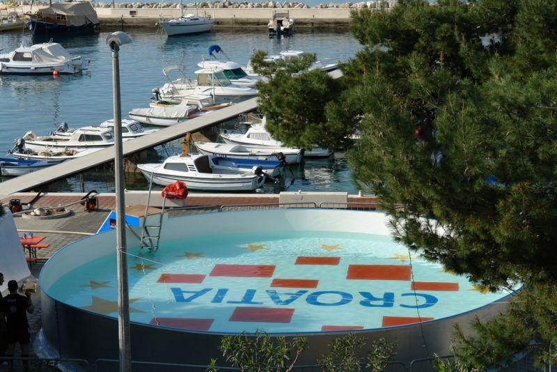 detalj s gostovanja 'Pogleda u plavo' u Orebiću