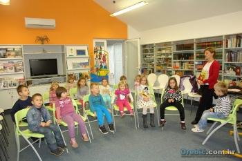 Djeca PV 'Potomje' u posjeti Narodnoj knjižnici Orebić