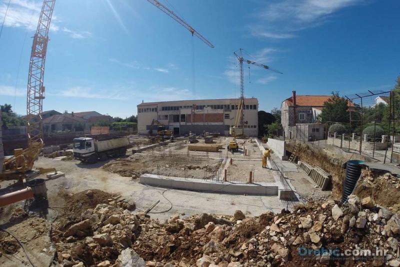 Gradilište OŠ Orebić