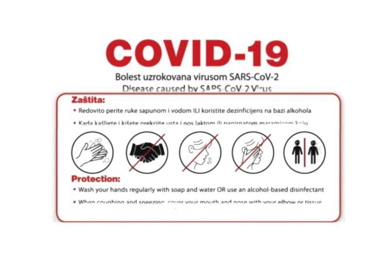 Koronavirus - Općina Orebić donijela mjere prevencije širenja virusa
