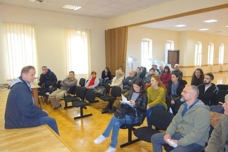 Sa sastanka općinskog načelnika s predstavnicima MO i građana Kućišta