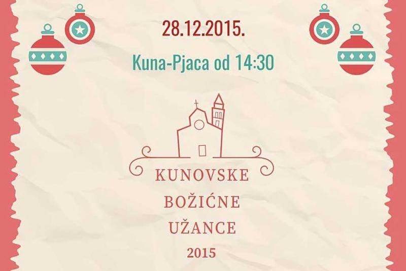 Kunovske božićne užance - sutra u 14:30