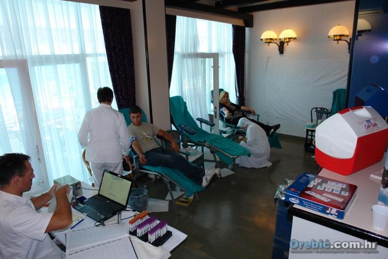 S jedne od dosadašnjih akcija dobrovoljnog darivanja krvi