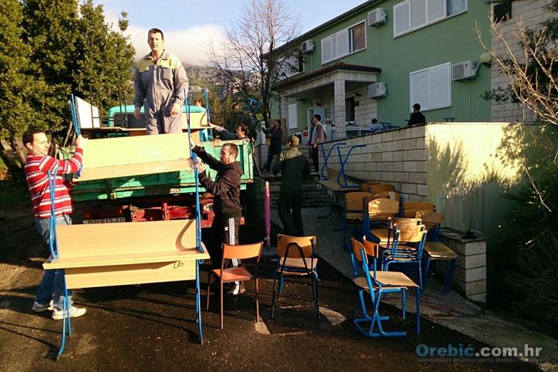 Roditelji u volonterskoj akciji - preseljenje