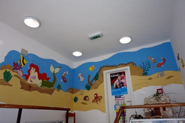 Ilustracija Marija Zara u dječjem vrtiću 'Orebić'