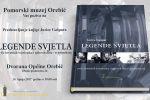 Predstavljanje knjige Jurice Gašpara 'Legende svjetla' u subotu u Orebiću