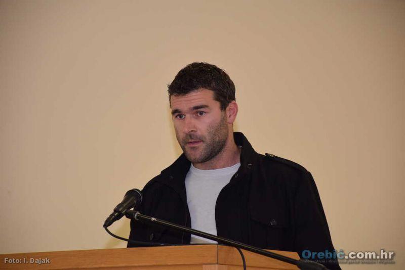Dario Krističević na sjednici Općinskog vijeća