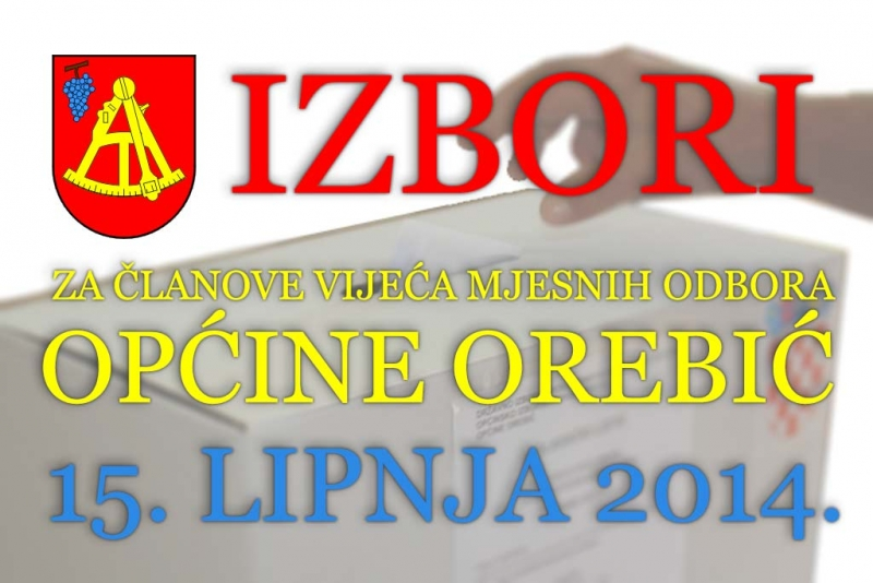 Izbori za članove vijeća mjesnih odbora - što smatrate najvažnijom temom u MO Orebić?