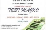 Humanitarni koncert klapa u petak u Pomoćnici kršćana