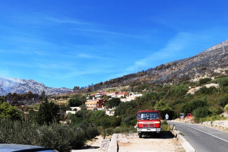 Požar u Orebiću