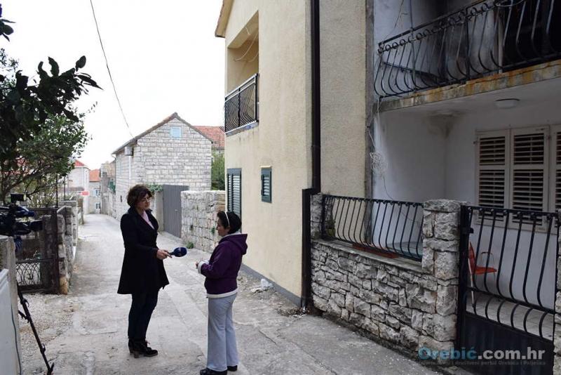 Sa snimanja priloga u Orebiću