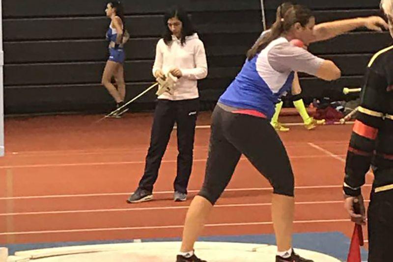Marija Tolj osvojila još jedno zlato novim osobnim rekordom u bacanju kugle!