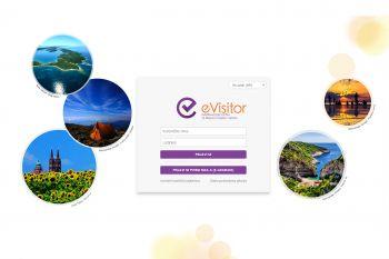 Ilustracija - sustav za prijavu gostiju e-visitor