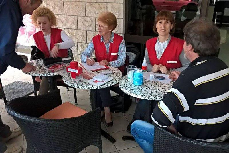 S akcije Crvenog križa u Orebiću