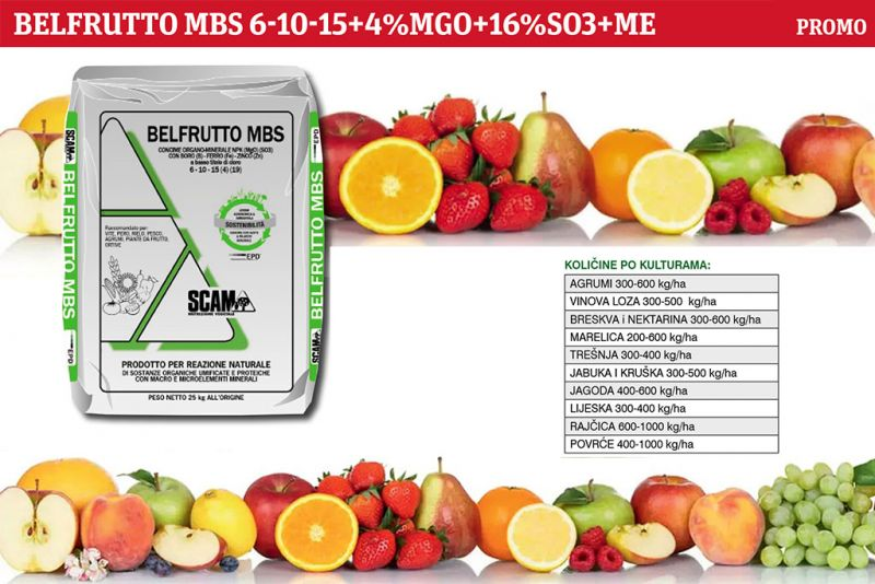 Kompletna organska i mineralna gnojidba voćaka i vinograda sa osvrtom na gnojidbu agruma