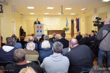 Skup povodom 26. godišnjice HDZ-a općine Orebić