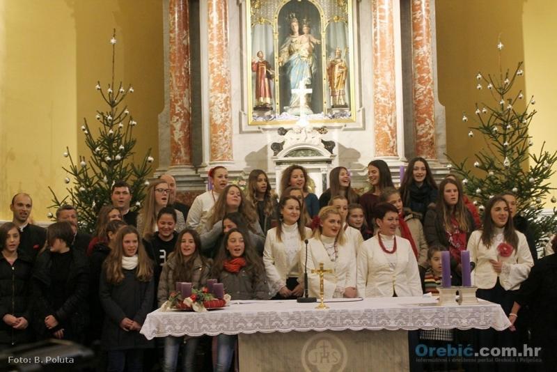 S prošlogodišnjeg 'Božićnog koncerta klapa'