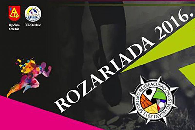 Detalj plakata ovogodišnje Rozariade