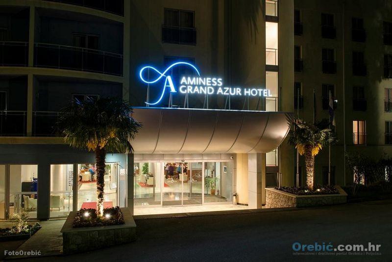 Najveći orebićki hotel s 4 zvjezdice - Aminess Grand Azur