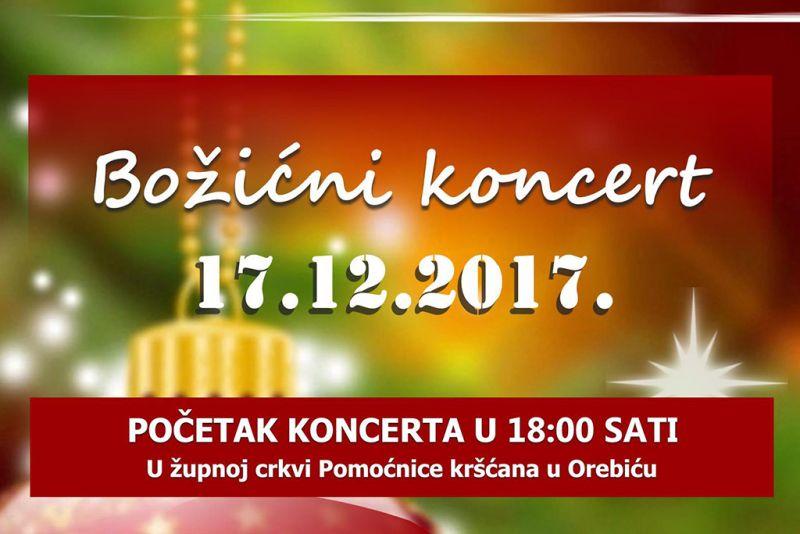 Detalj plakata - Božićni koncert