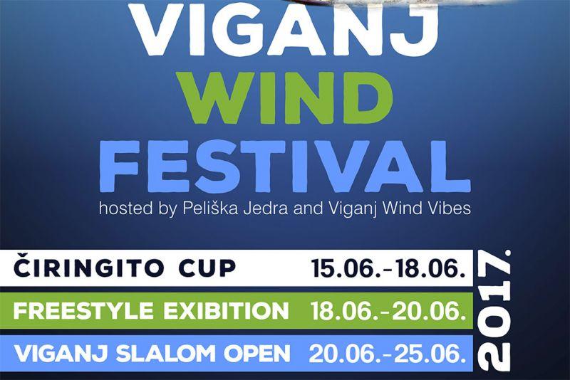 Natjecanje se odvija kao dio programa 'Viganj wind festivala'