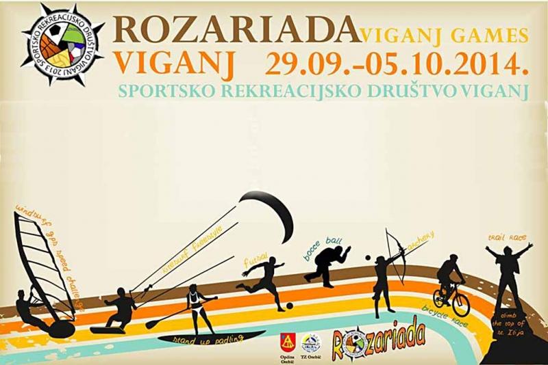 Završna natjecanja viganjske 'Rozariade'