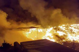 Požar otpada u orebićkoj 'Kavi'
