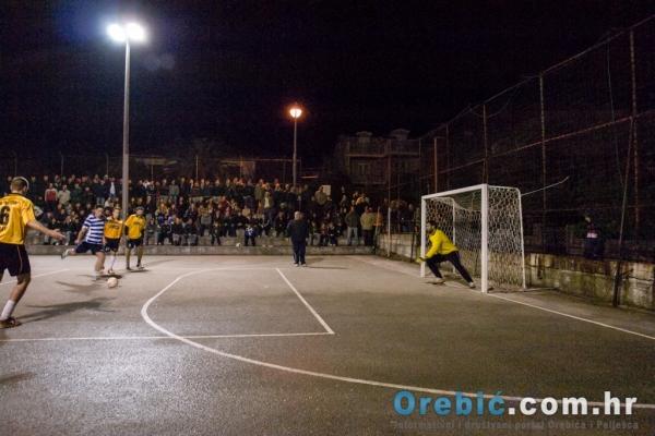 Presudan kazneni udarac na utakmici Dalmatinac : CB Meteor