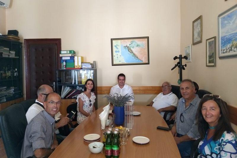 Sastanak s gostima iz Italije prošle godine