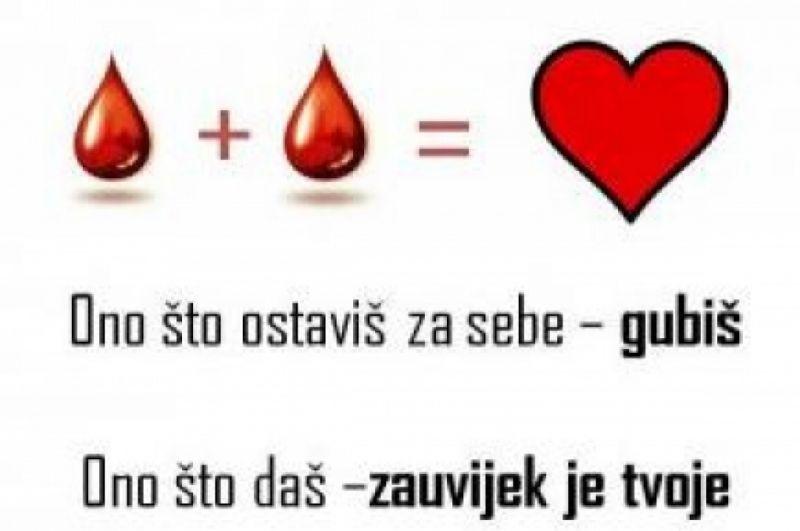 Druženje darivatelja krvi DNŽ - poziv za prijavu zainteresiranih!