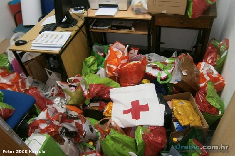 Dio skupljenih donacija u akciji