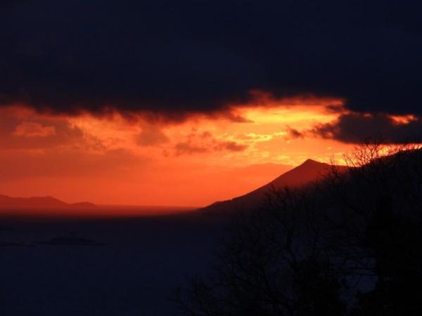Zalazak sunca u Borju