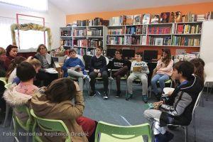 Kako se čitalo naglas u Narodnoj knjižnici Orebić