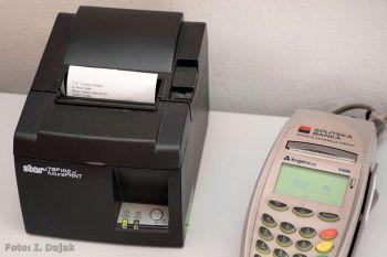 Ilustracija - printer i POS terminal