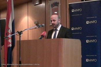 Ministar Maras na predstavljanju 'Poduzetničkog impulsa' u Zagrebu