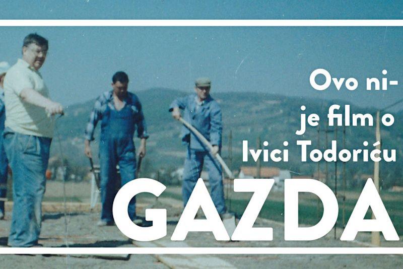 Detalj plakata filma 'Gazda'