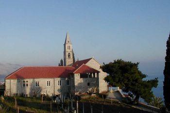 Ilustracija: samostan i crkva u Podgorju