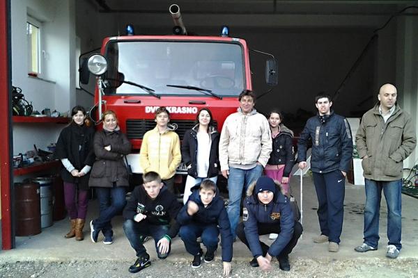 Ekipa DVD Kuna s domaćinima u Krasnom