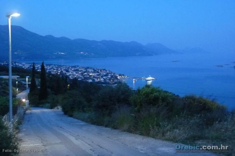Postavljena javna rasvjeta od hotela do Gurića sela