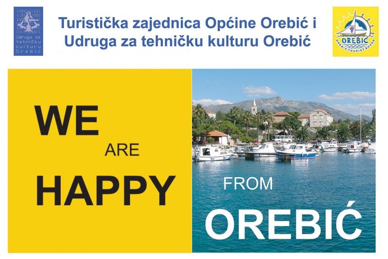 'We are happy' sutra na rivi u Orebiću - evo što se i kako snima!
