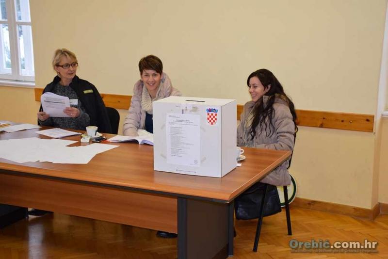 Zatvorena birališta - pratite lokalne privremene nepotpune rezultate predsjedničkih izbora na orebic.com.hr