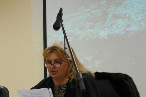 Predsjednica OV općine Orebić Marija Mrgudić