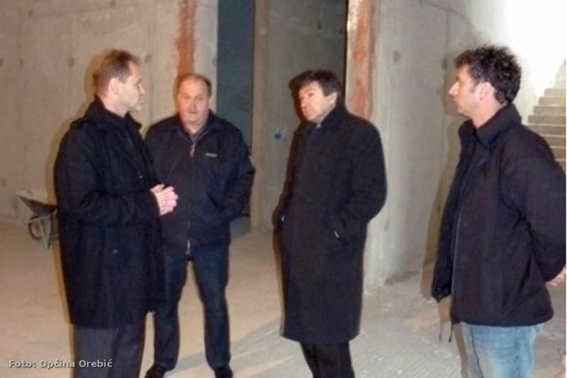 Ministar Mornar u obilasku gradilišta