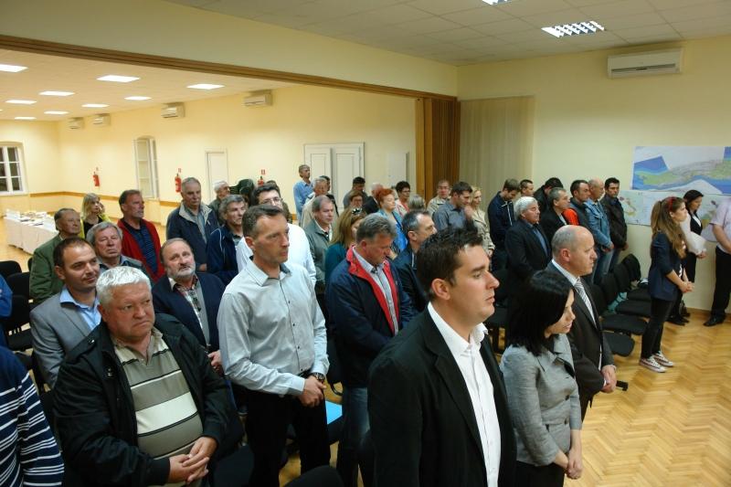 Skup HDZ-a u dvorani Općine Orebić