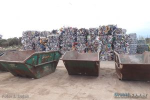 Ilustracija - reciklažno postrojenje na Krku