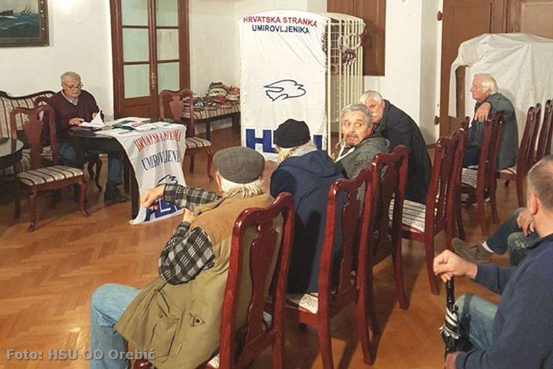 S prošle izvještajne skupštine HSU OO Orebić
