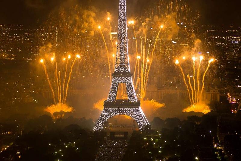 """Vatromet za 'Dan Bastille"""" 2011."""