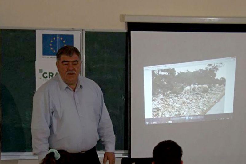 Josip Antunović - Mesko - na predavanju u Dubrovniku